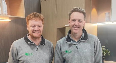 klint and lance hunt - hawera kitchens